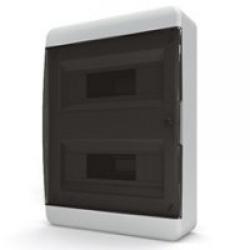 Щиток накладной(черн.дверь) IP40 TEKFOR 24 модуля BNK - фото 5483