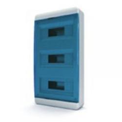 Щиток накладной(син.дверь) IP40 TEKFOR 36 модулей BNS - фото 5493