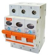 Выключатель нагрузки (мини-рубильник) ВН-32 3P 63A TDM