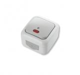 Выключатель 1-клавишный проходной с подсветкой Viko Palmiye
