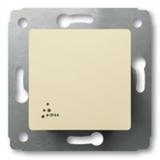 Выключатель 1-клавишный IP 44 16А (слон.кость) Legrand Cariva 773709