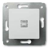 Кнопка с подсветкой 10А (Белая) Legrand Cariva 773613