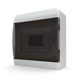 Щиток накладной(черн.дверь) IP40 TEKFOR 8 модулей BNK