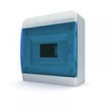 Щиток накладной(син.дверь) IP40 TEKFOR 8 модулей BNS