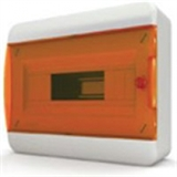 Щиток накладной(оранж.дверь) IP40 TEKFOR 12 модулей BNO