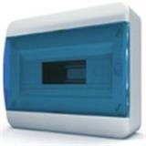 Щиток накладной(син.дверь) IP40 TEKFOR 12 модулей BNS