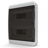 Щиток накладной(черн.дверь) IP40 TEKFOR 24 модуля BNK