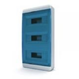 Щиток накладной(син.дверь) IP40 TEKFOR 36 модулей BNS