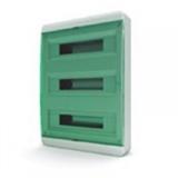 Щиток накладной(зелён.дверь) IP40 TEKFOR 54 модуля BNZ