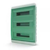 Щиток встраиваемый(зелён.дверь) IP40 TEKFOR 54 модуля BVZ