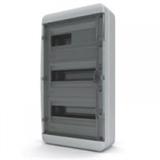 Щиток накладной герметич.(черн.дверь) IP65 TEKFOR 36 модулей BNK