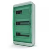 Щиток накладной герметич.(зелен.дверь) IP65 TEKFOR 36 модулей BNZ
