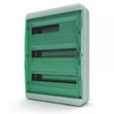 Щиток накладной герметич.(зелен.дверь) IP65 TEKFOR 54 модуля BNZ
