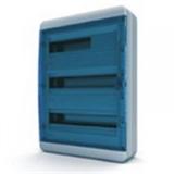 Щиток накладной герметич.(син.дверь) IP65 TEKFOR 54 модуля BNS