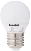 Лампа LED шар 4Вт E27(аналог 40Вт) Camelion LED4-G45/830/E27