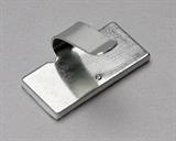 Площадки монтажные самоклеющиеся металлические ПМС-КМ с клипсой для кабеля 20х10