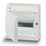 Щиток накладной(бел.дверь) IP41 ABB 8 модулей Unibox