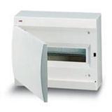 Щиток накладной(бел.дверь) IP41 ABB 12 модулей Unibox