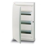 Щиток накладной(бел.дверь) IP41 ABB 36 модулей Unibox