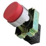 Кнопка BL42 без подсветки красный 1р TDM