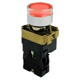 Кнопка BW3461 с подсветкой красный 1з TDM