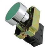 Кнопка BА31 без подсветки зеленый 1з TDM