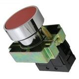 Кнопка BА41 без подсветки красный 1з TDM