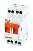 2P 50А Модульный переключатель трехпозиционный МП-63 TDM