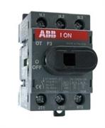 Рубильник ABB OT80F3 без ручки 3п. 80А