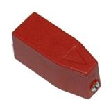 Ручка управления ABB OHRS3/1 прямого монтажа (красная) для рубильников OT16..125F