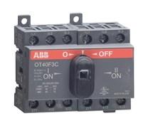 Рубильник ABB OT40F3C без ручки 3п. 40А